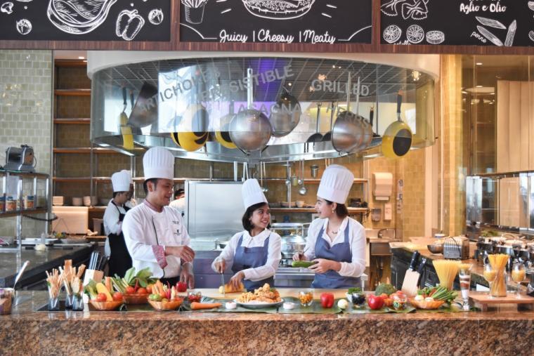 Marriott Cafe Jw Marriott Medan Dining